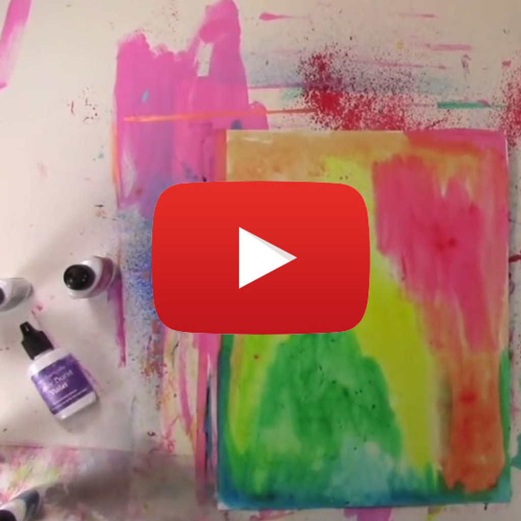 Color Burst Basics How-to Video by Carolyn Dube