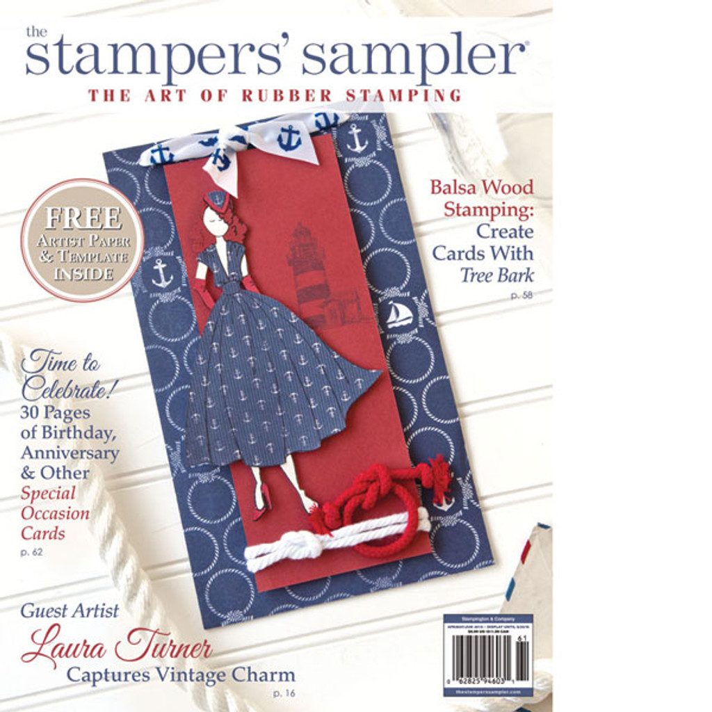 The Stampers' Sampler Spring 2016