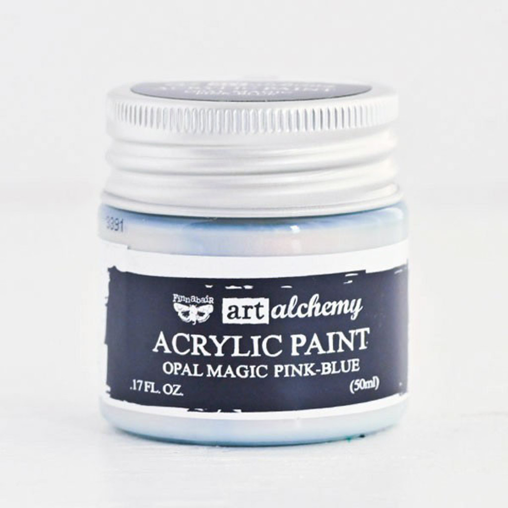 Art Alchemy — Finnabair Acrylic Paint — Opal Magic Pink Blue