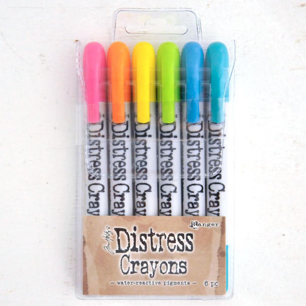 Ranger Ink Distress Crayons — Set 1 Brights