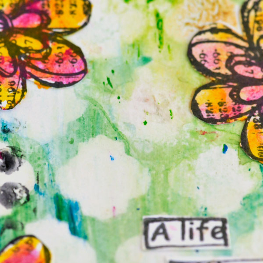 Distress Crayon Techniques to Try on Tags