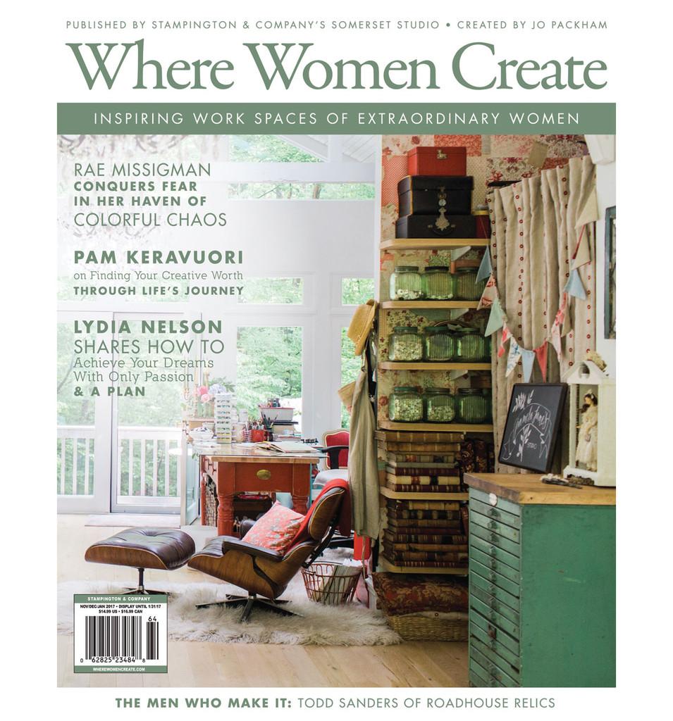 Where Women Create Winter 2017