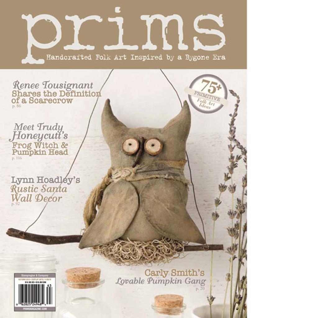 Prims Autumn 2016