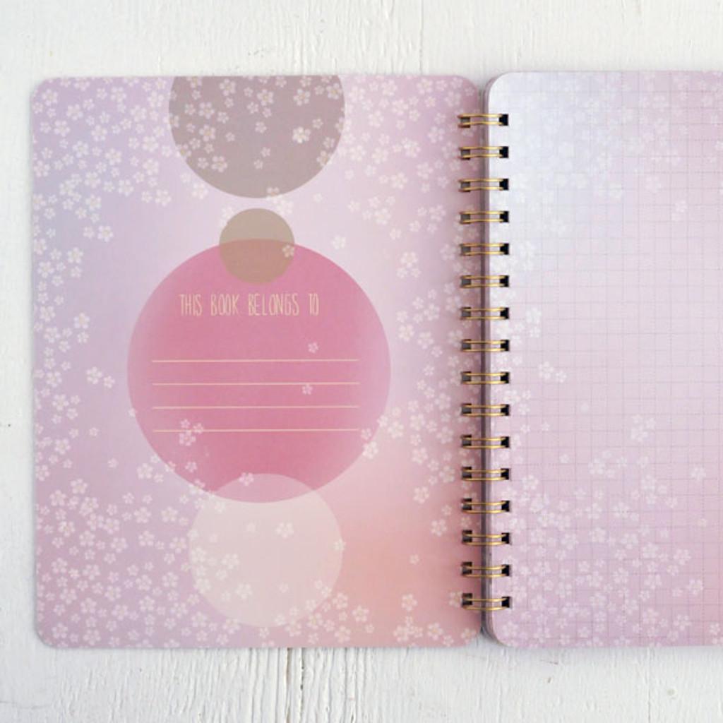 Think In Magic Spiral Notebook by Papaya Art