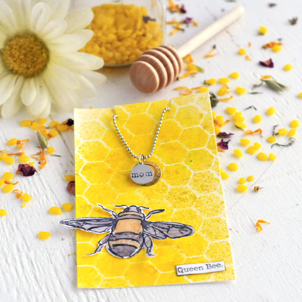 You're The Bee's Knees — Mother's Day Tag & Charm Project