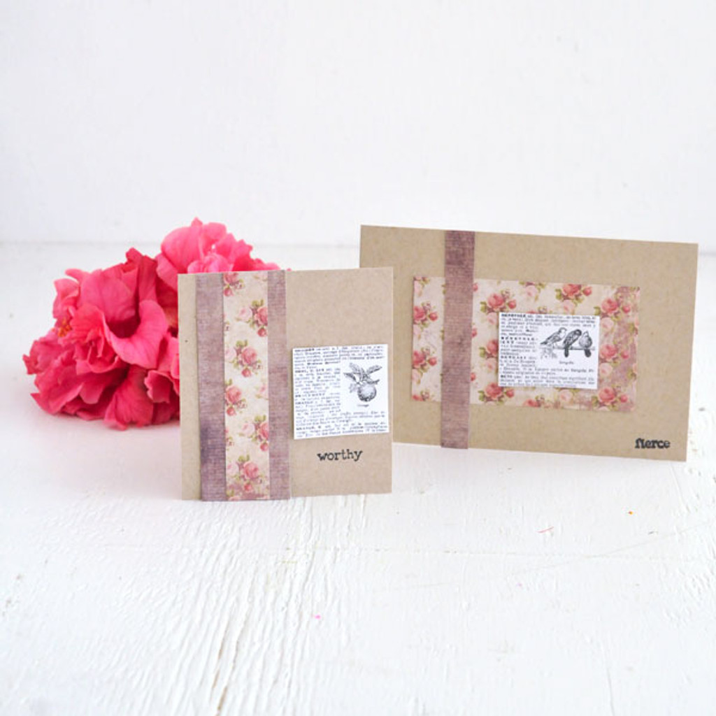 Sweet and Simple Cards Project