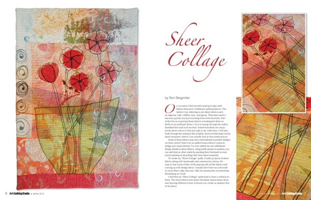 Art Quilting Studio Subscription