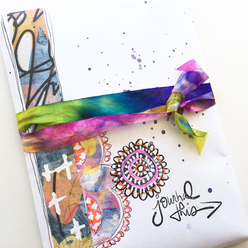 Jot it Down Quick and Colorful Handmade Journal Project by Rae Missigman