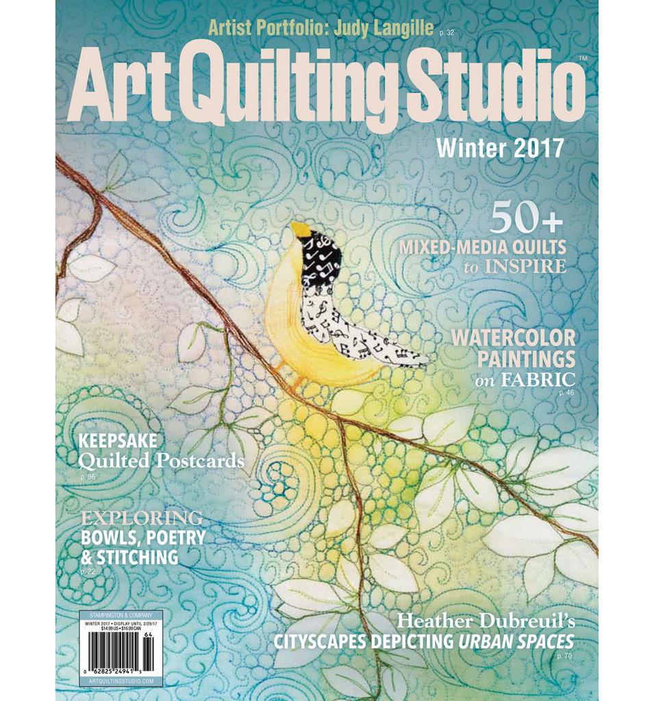 Art Quilting Studio Winter 2017