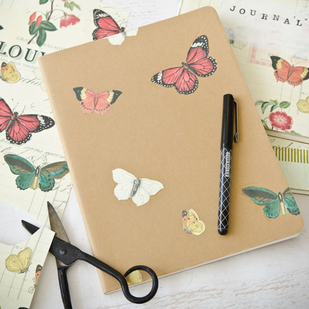 Decoupage Papers Three Ways: A Trio of Journals for Mom by Christen Hammons
