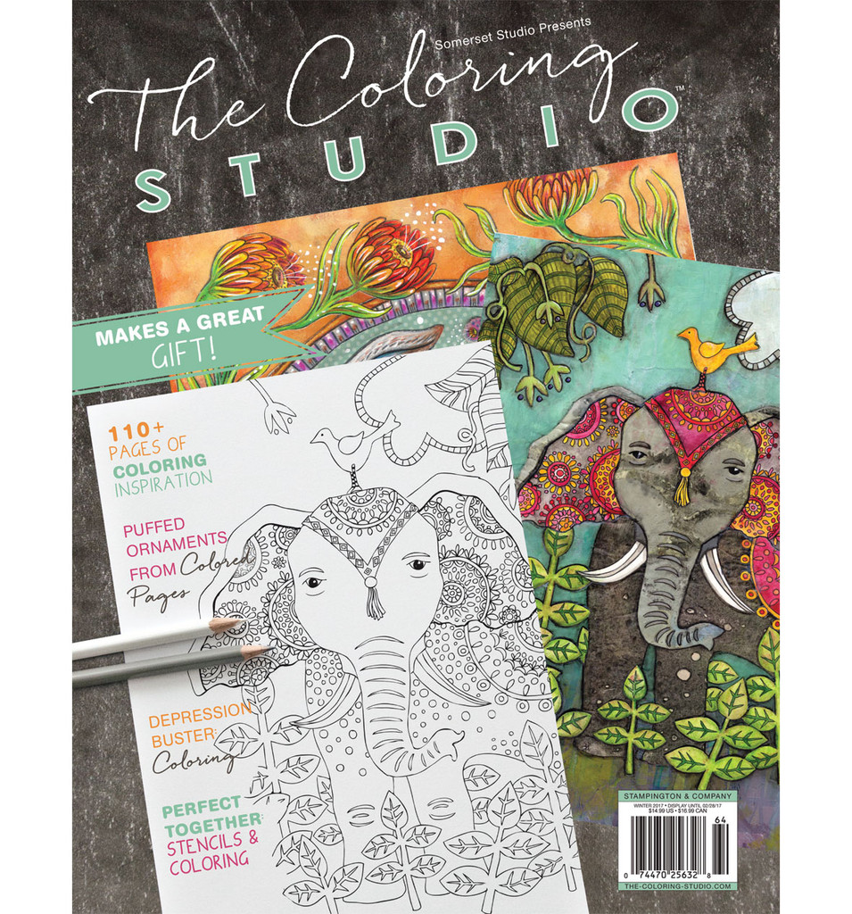The Coloring Studio Winter 2017
