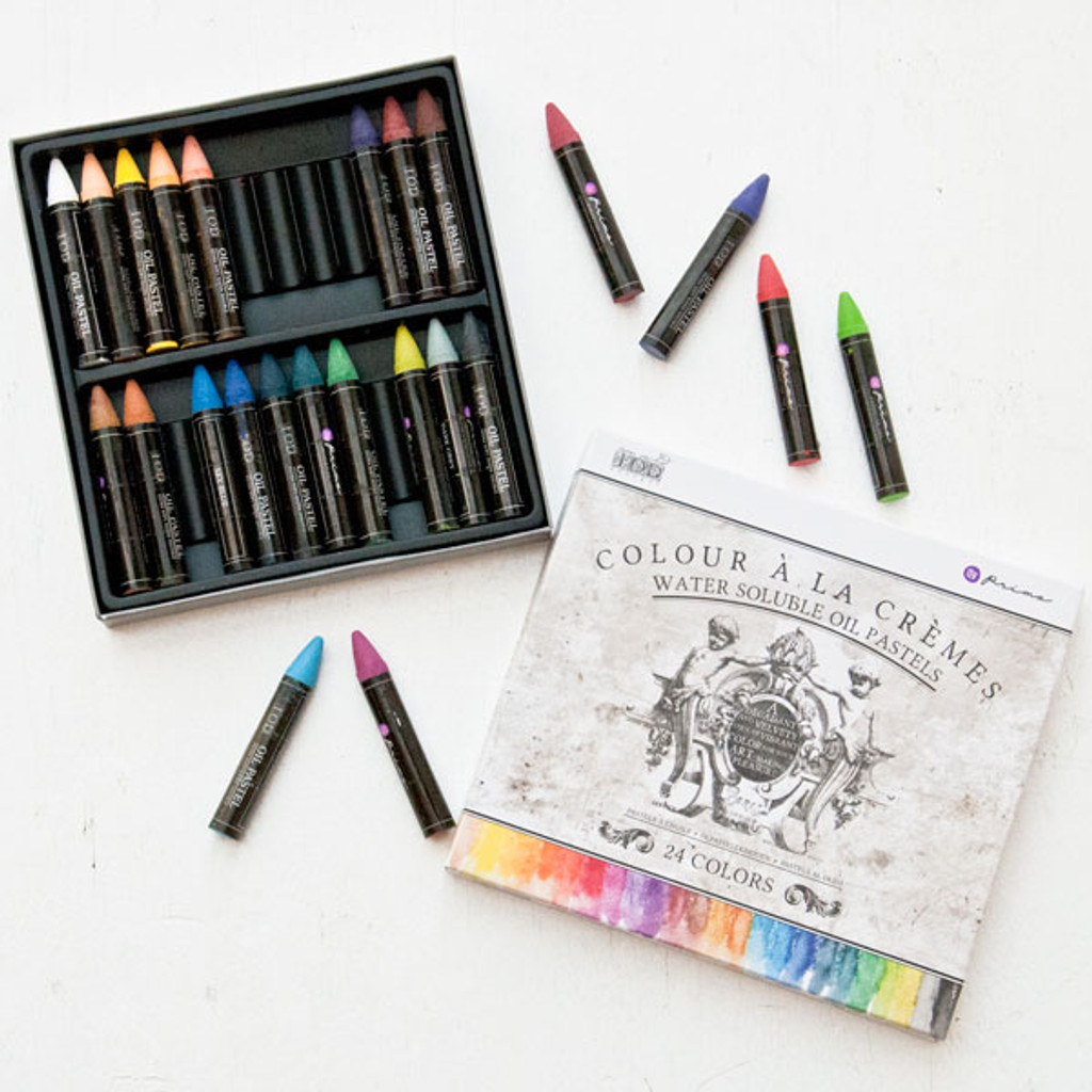 Prima Marketing Water-Soluble Oil Pastel Crayons