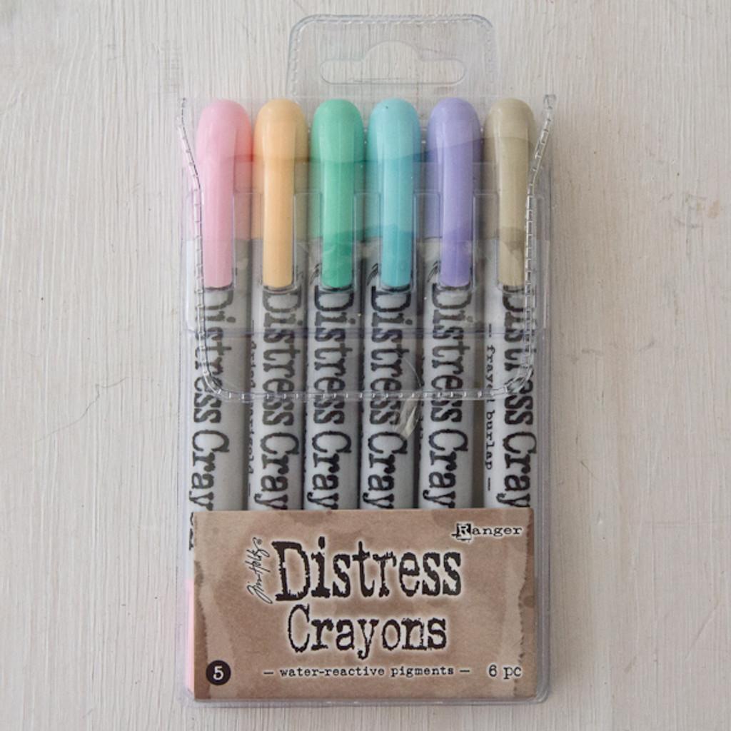 Ranger Ink Distress Ink Crayons Set — Pastels