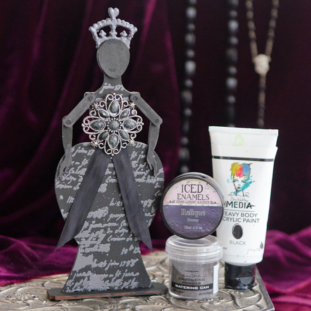 Queen Persephone PaperWhimsy Project