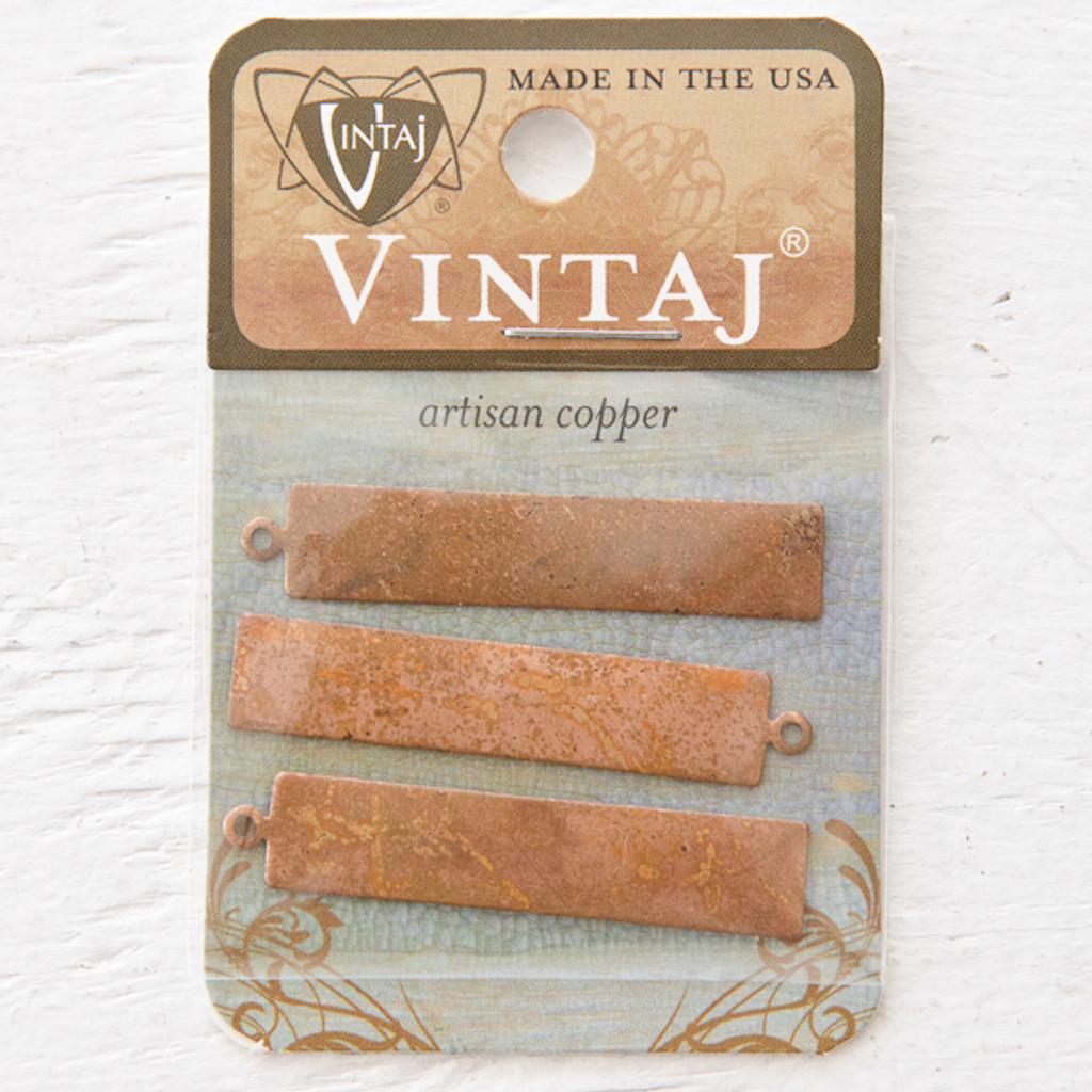 Vintaj Natural Brass Co. Blank Tag 23 gauge