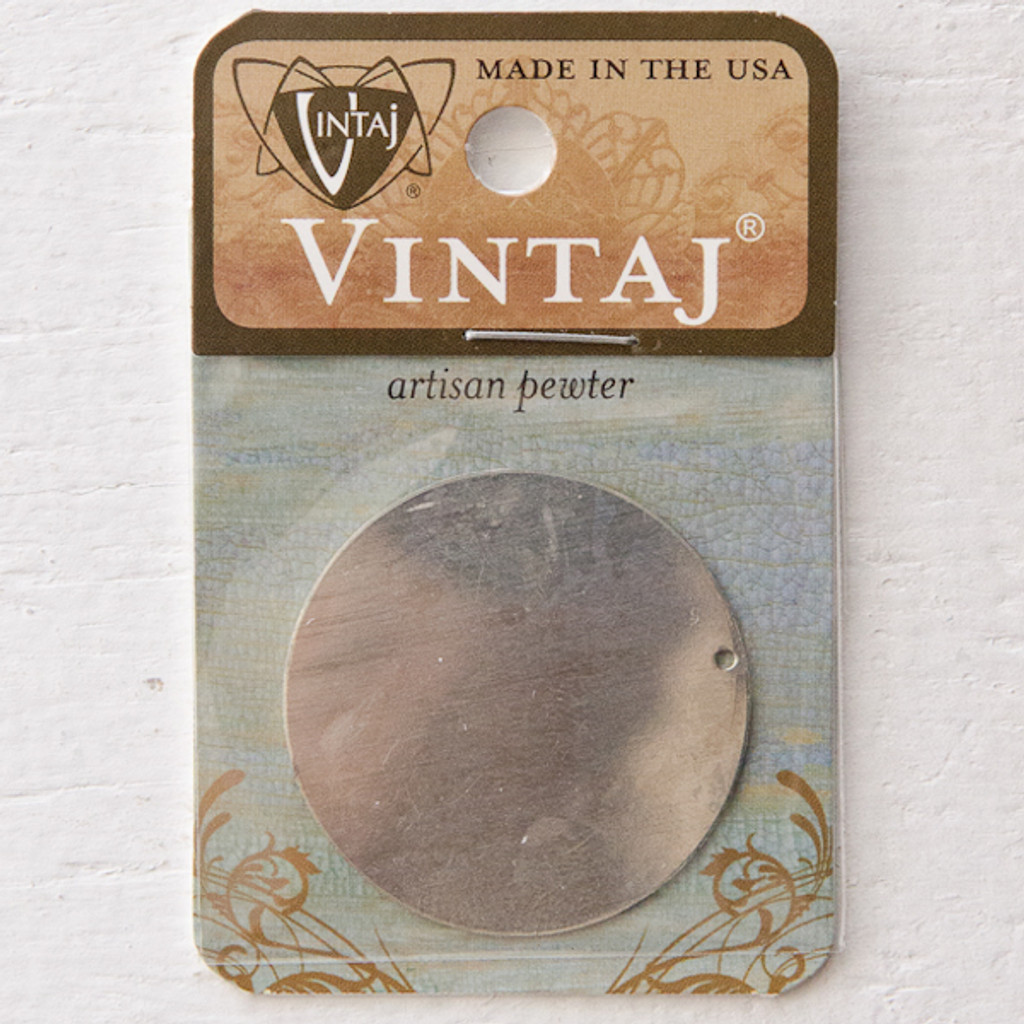 Vintaj Natural Brass Co. Large Circle
