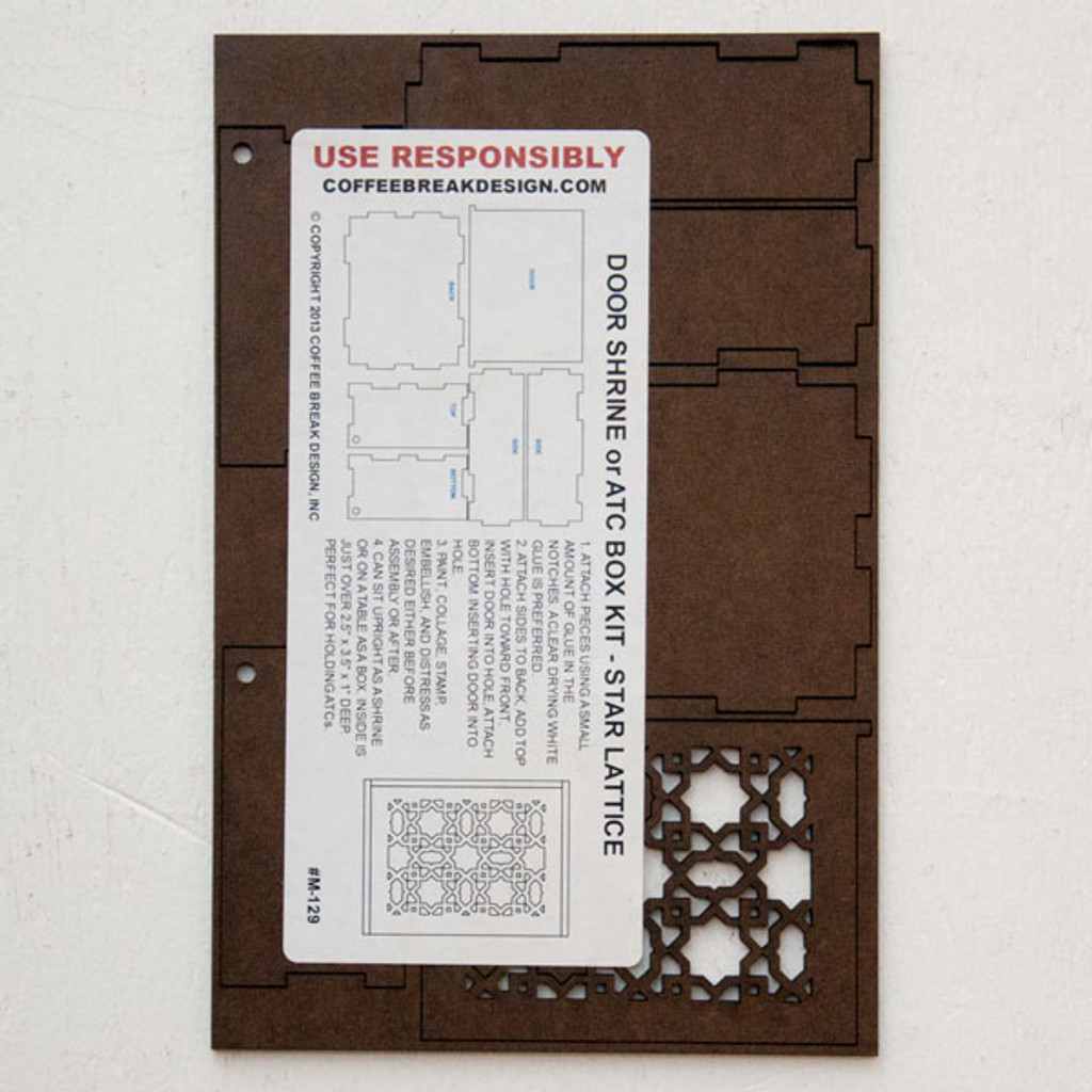 Door Shrine or ATC Box Kit — Star Lattice