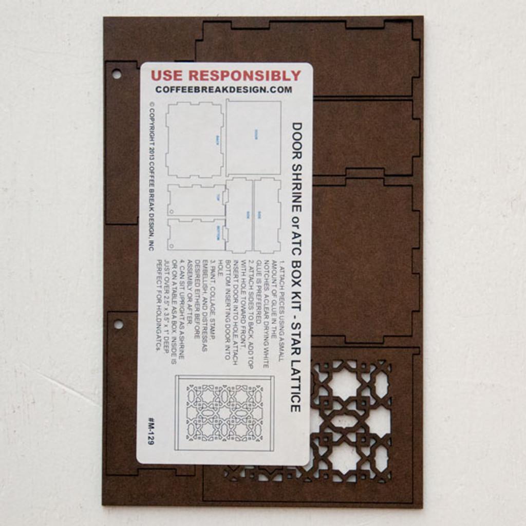 Door Shrine or ATC Box Kit — Star Lattice