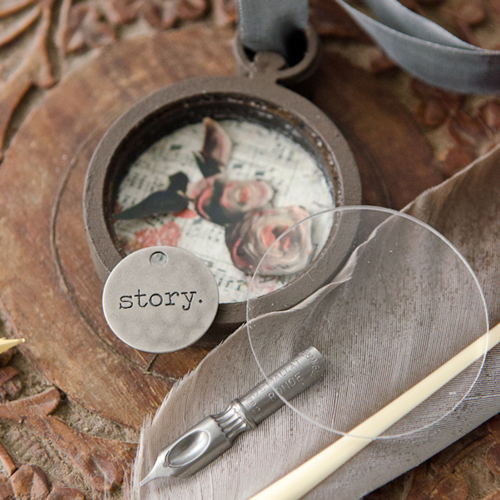 Pocket Watch Memory Locket Project