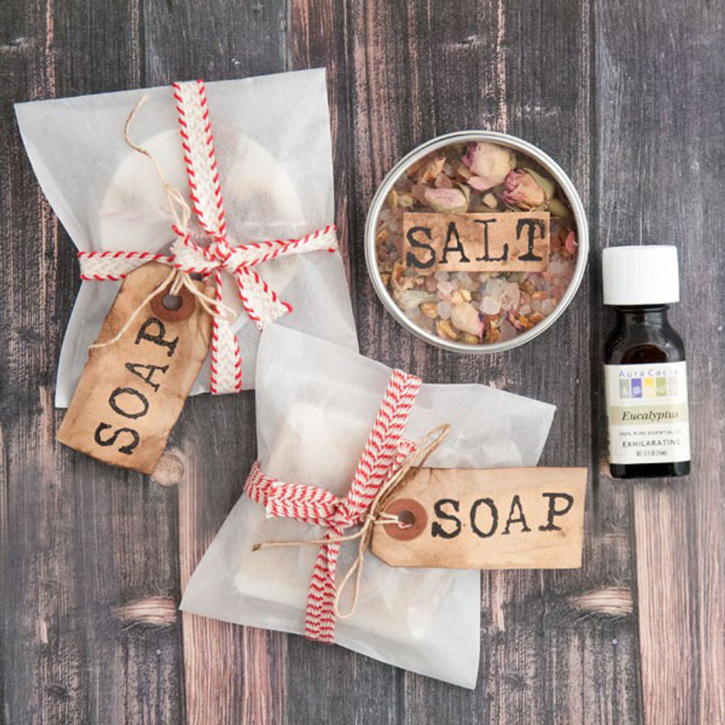 Jolly Holiday Soap Gift Project