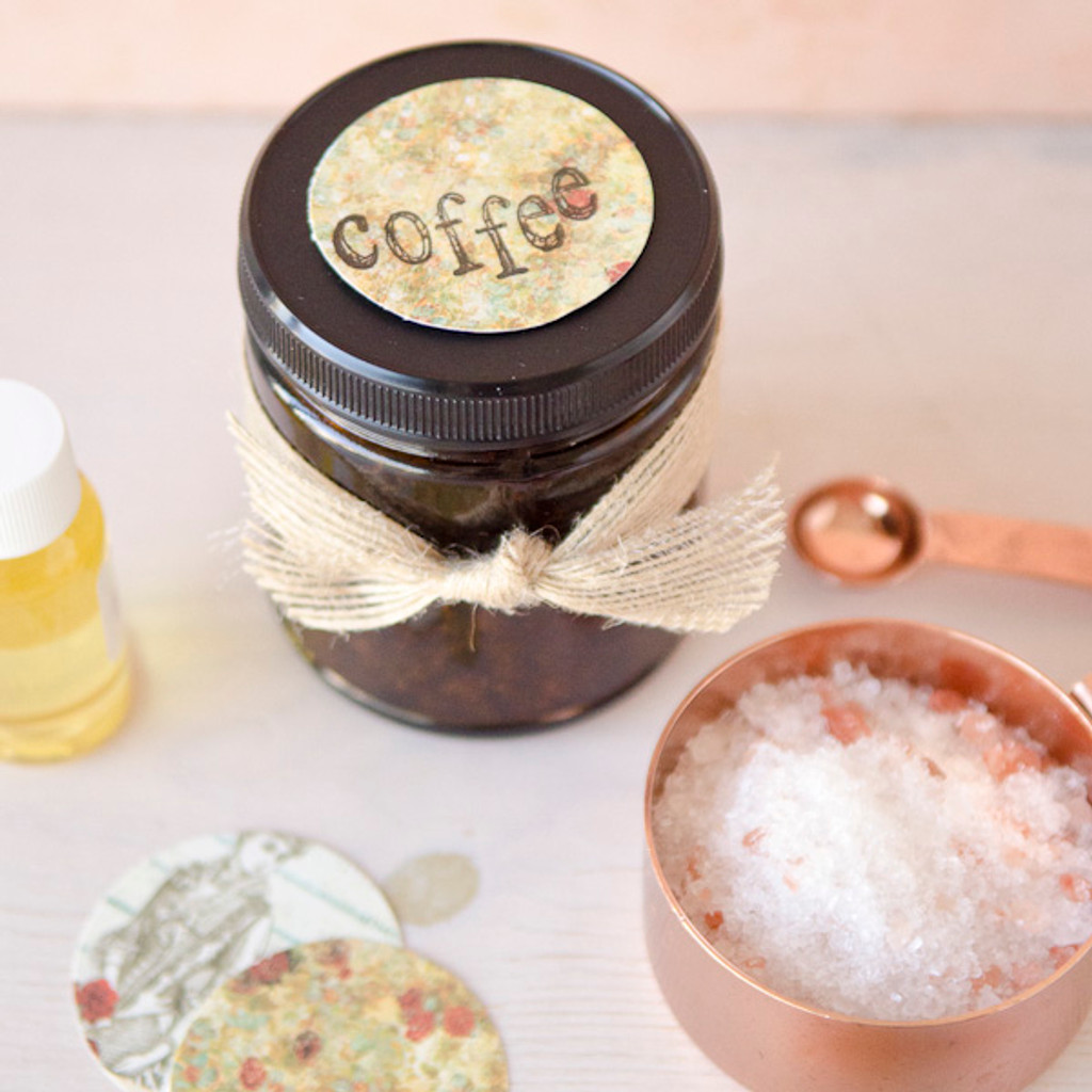 Coffee House Salt Scrub Project
