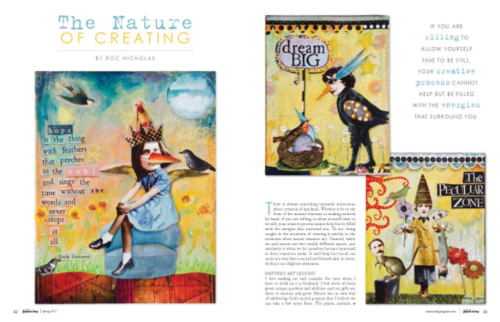 Art Journaling Spring 2017