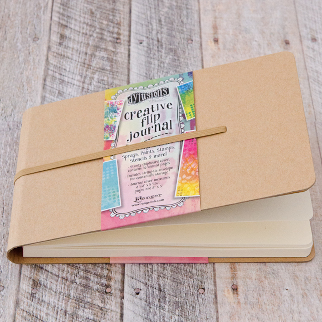 Dylusions Creative Flip Journal - Small
