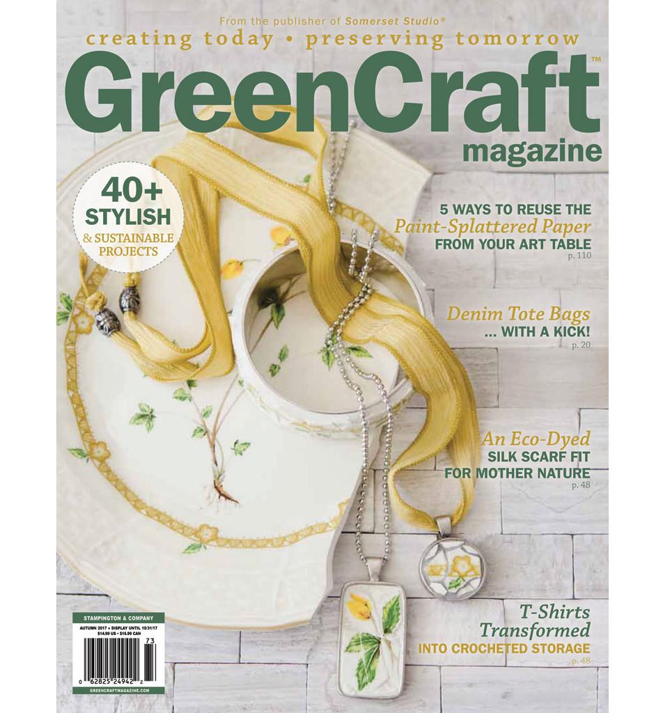 GreenCraft Magazine Autumn 2017