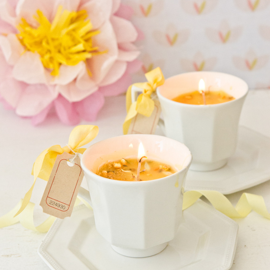 Teacup Candles Project