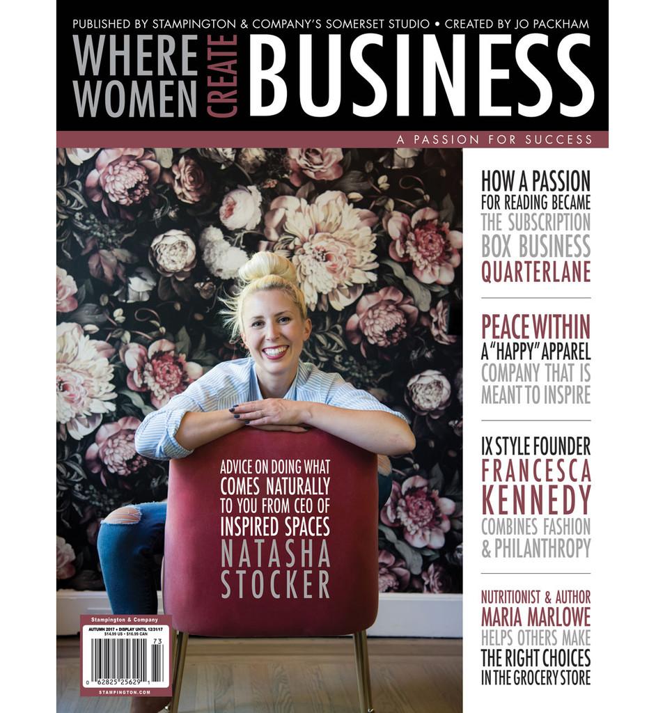 Where Women Create BUSINESS Autumn 2017