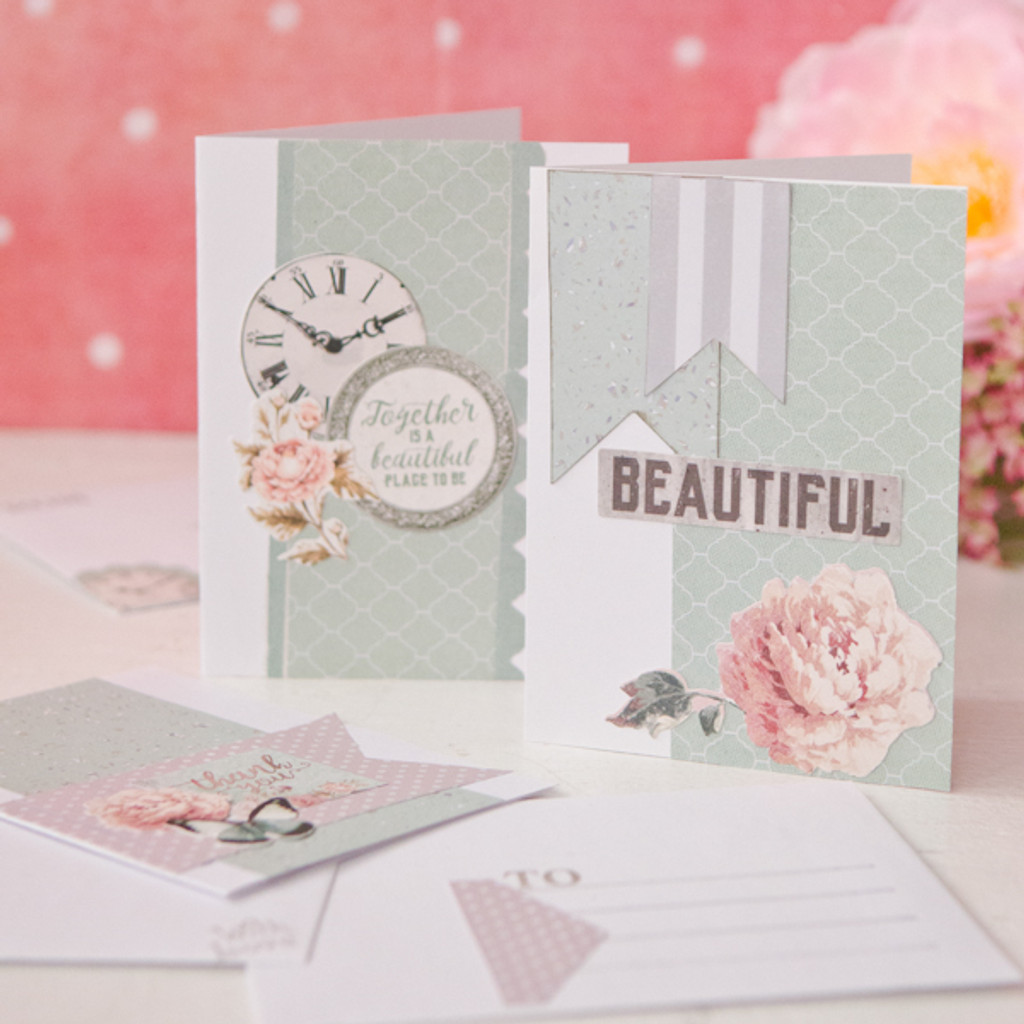 Peonies, Penpals, and Paper Cards and Envelopes Project