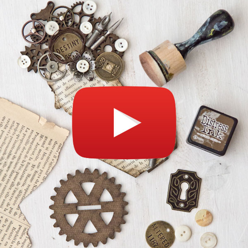 Stay Strong: Steampunk Assemblage Woman Video