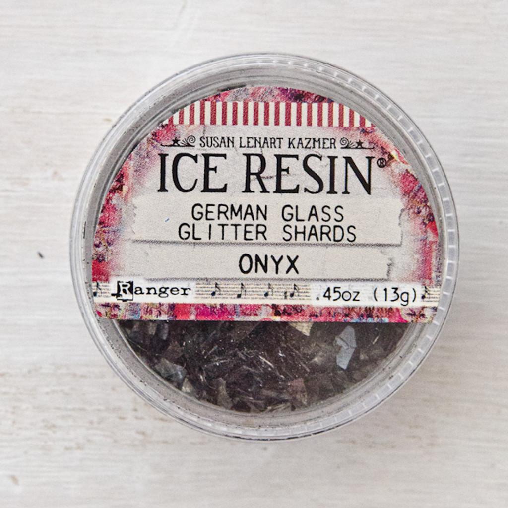 Ice Resin Glass Glitter — Onyx