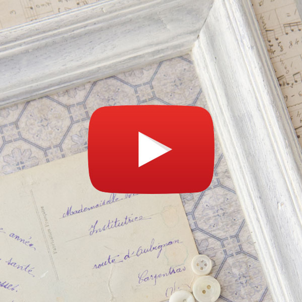 Framed Vintage Postcards Video