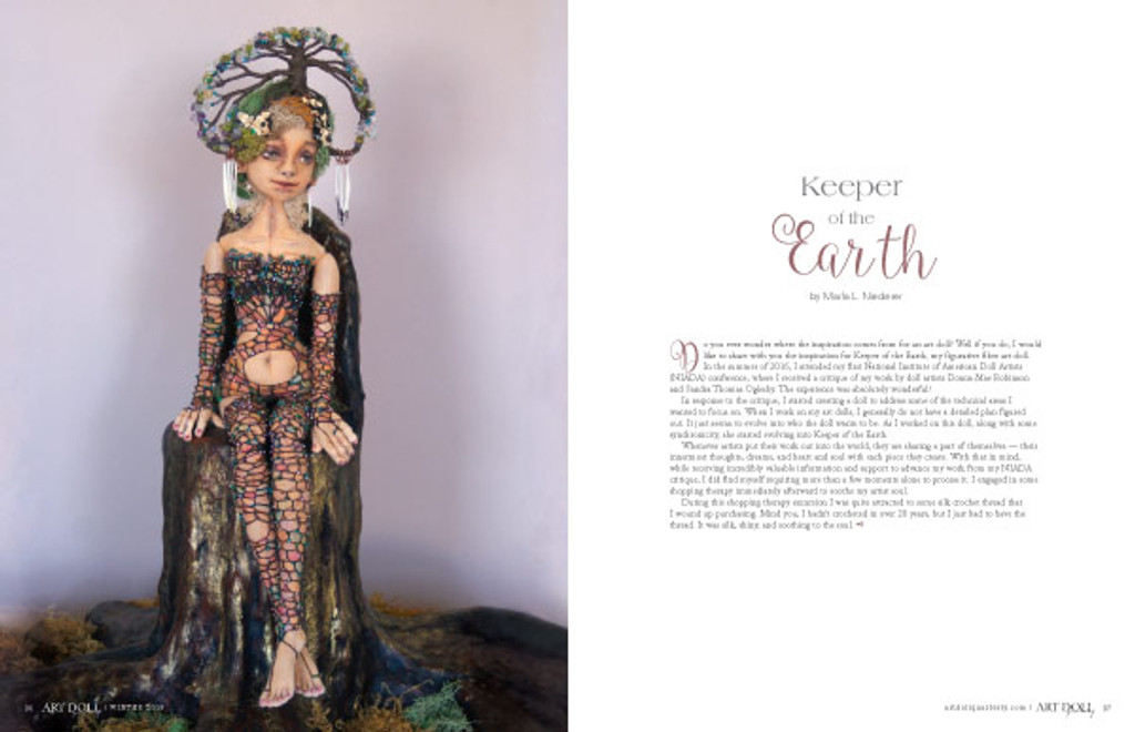 Art Doll Quarterly Winter 2018