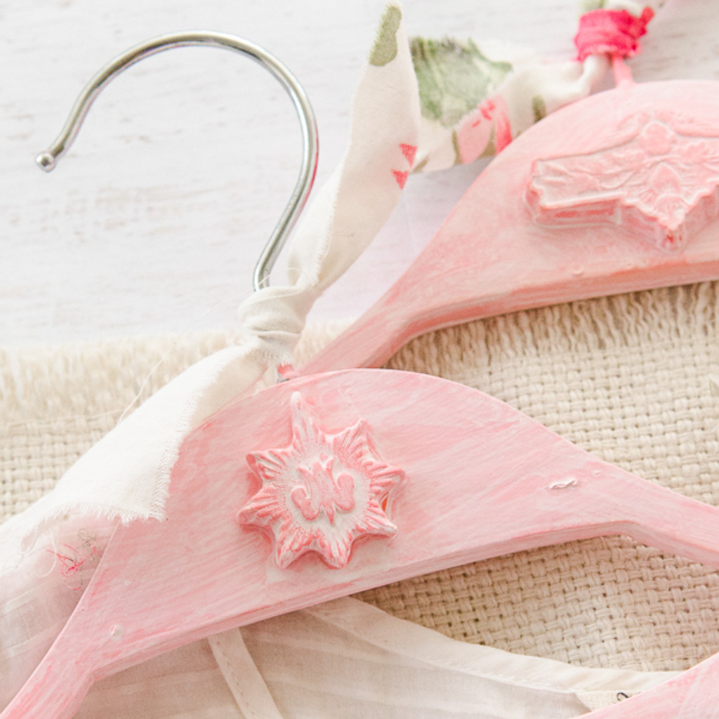 Pink and Pretty Hangers Project