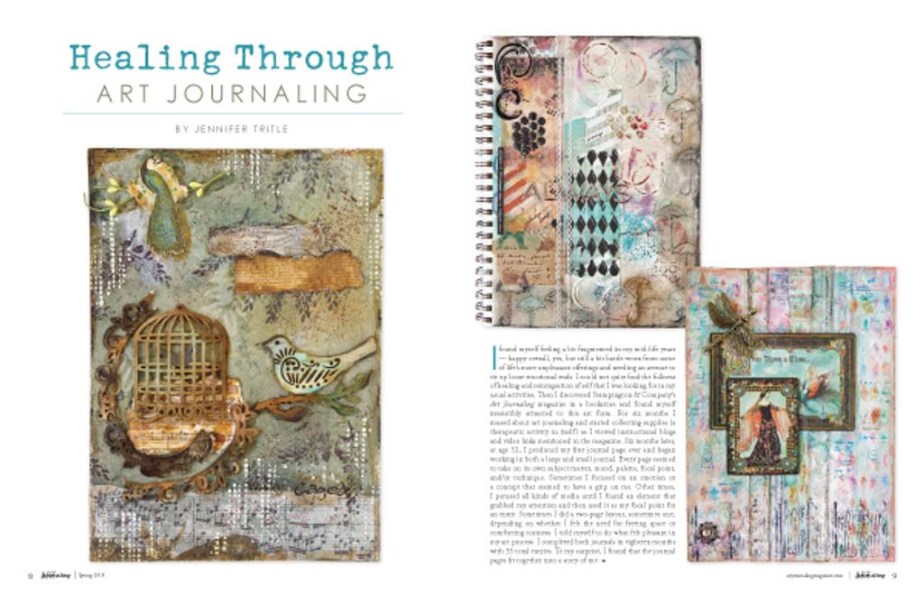 Art Journaling Spring 2018