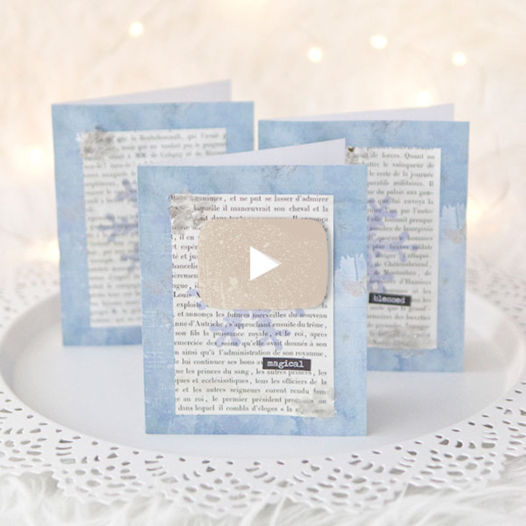 Winter Snowflake Cards Video