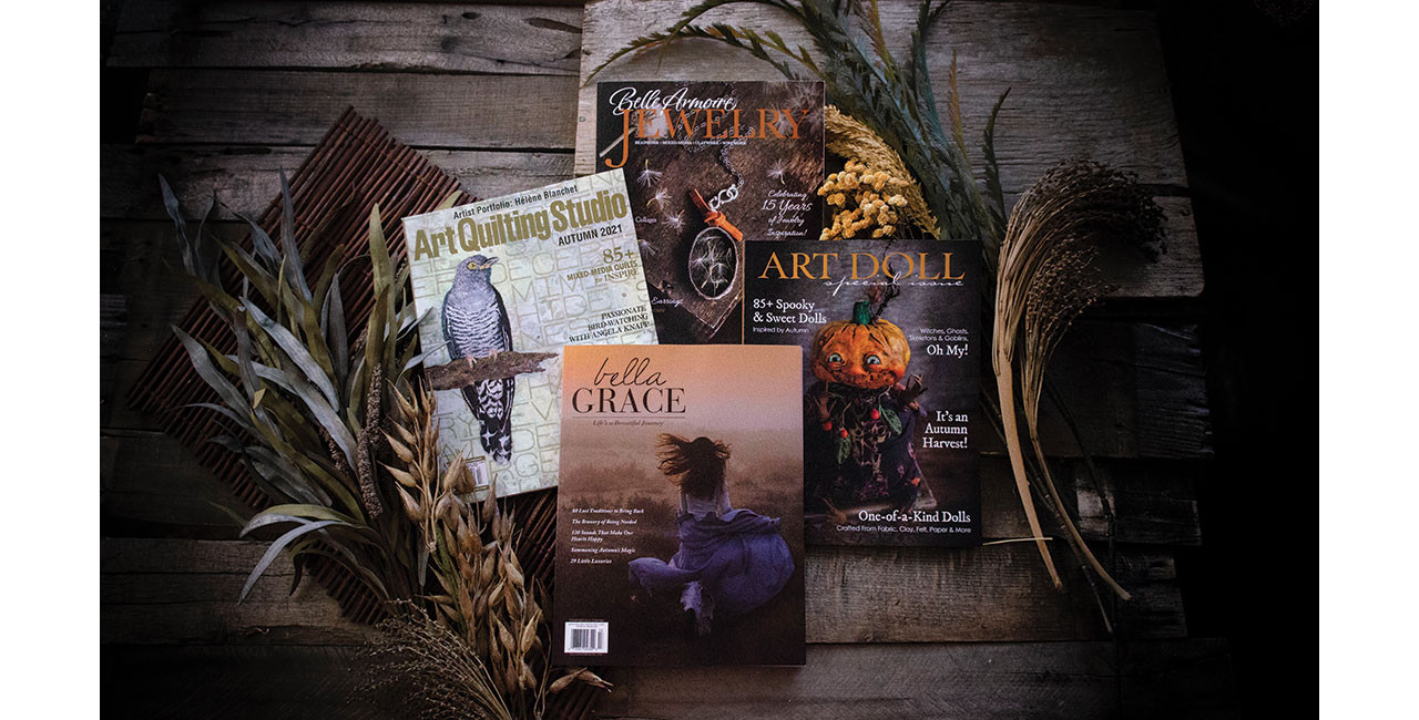 Glimpse Inside September 2021 Issues + Your Chance to Win!