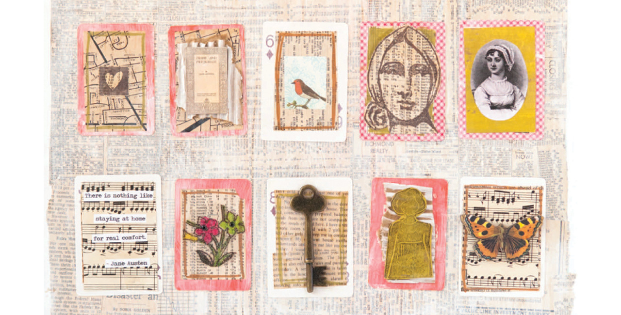 6 Jane Austen-Themed Mixed-Media Projects