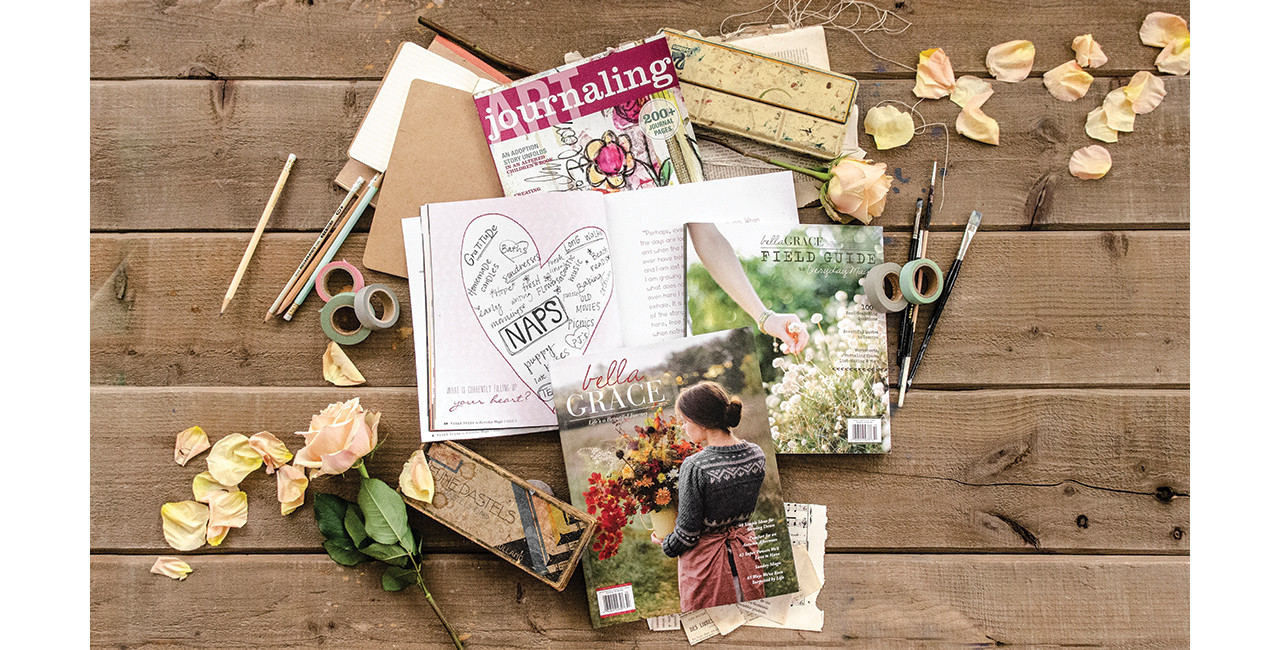 A Tour of Our Journaling Magazines
