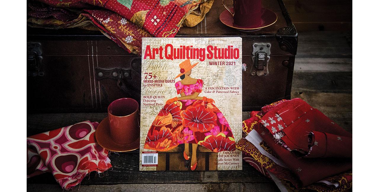 A Tour of Art Quilting Studio