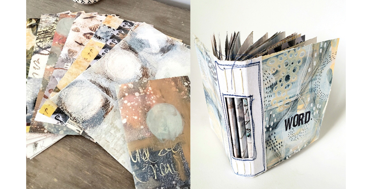 Getting Creative With Somerset Studio Artist Papers by Guest Artist Megan Whisner Quinlan