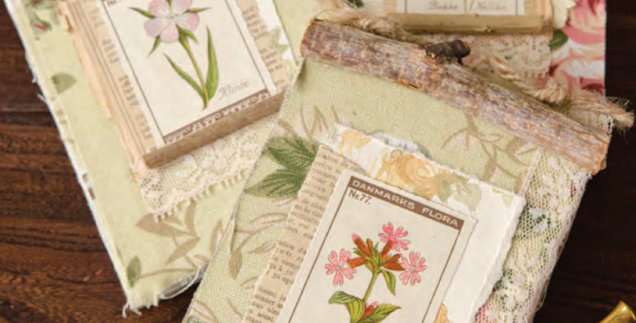 How to Make Garden Notebooks with Repurposed Materials