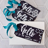 Hello from the Other Side Tags Project