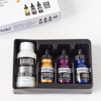 Liquitex Pouring Kit — Deep Colors
