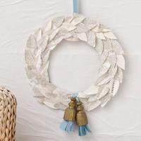 French Flea Market Laurel Wreath Project