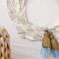 French Flea Market Laurel Wreath Project