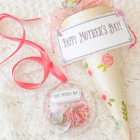 A Mother's Day Floral Bouquet Project by Catherine Garmany