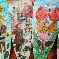 Charmed Floral Memory Fan Project by Ella Wilson